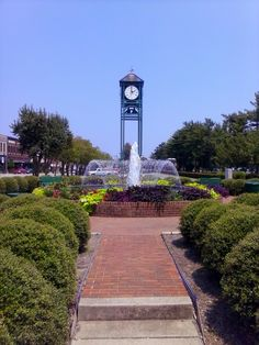 Clock tower Thomasville NC