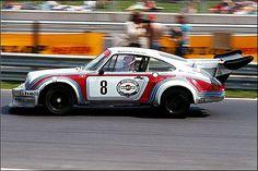 1974 Porsche RSR with Gijs van Lennep at Nürburgring.