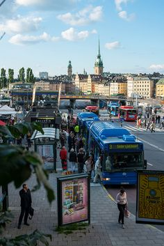 Stockholm, Sweden by sabotai, via Flickr