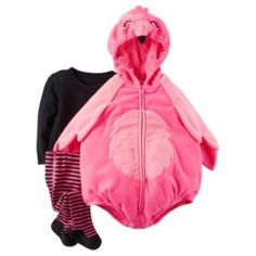 Baby+Girl+Carter's+Flamingo+Costume+Set