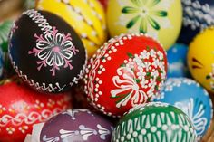 Hand Painted Easter Eggs Pictures, Photos, and Images for Facebook, Tumblr, Pinterest, and Twitter