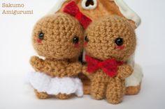 Guarda questo articolo nel mio negozio Etsy https://www.etsy.com/it/listing/480454486/amigurumi-gingerbread-panpepato-kawaii