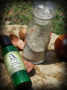 Natural Herbal Mint Tooth Powder. $10.00, via Etsy.
