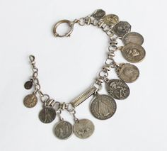 19th Century Rare French Pocket Watch Chain by OldPrintLoft