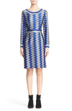 Missoni Bicolor Zigzag Knit Dress $1,585.00  #ShopSale #want #ReviewsClothing