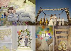 Disney Pixar's UP themed wedding