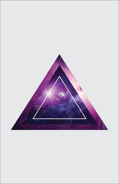 Galaxy Triangles on Behance