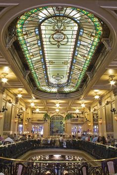 The gorgeous Cafe Columbo, Centro, Rio de Janeiro. Aww great memories of a humongous plate of food hehe!!!