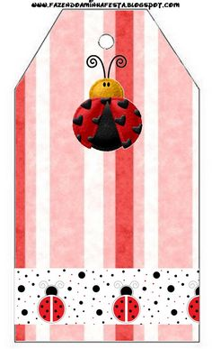 Lovely Ladybugs: Free Printables. | Oh My Fiesta! in english