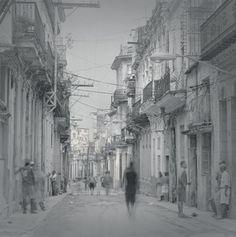 Street with wires, 2006 - La Habana - Alexey Titarenko