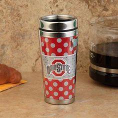 Travel Mugs On Pinterest Ohio State Buckeyes Tumblers