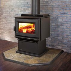 Regency F5100B Wood Stove #thefirebird #santafe #staywarm