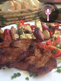 Grill Party, Grills, Wok, Tandoori Chicken, Steak, Bacon, Cooking Recipes, Ethnic Recipes, Kitchen