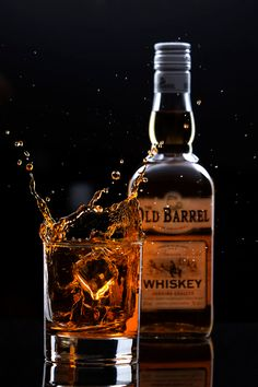 Whiskey by Roman Vanur Whiskey Shots, Cigars And Whiskey, Whiskey Bottle, Alcohol Bottles, Liquor Bottles, Drink Bottles, Peaky Blinders Theme, Expensive Whiskey, Alcohol Aesthetic