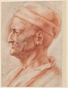 Peter Paul Rubens | Profile Head of an Old Man (Niccolò da Uzzano) | Drawings Online | The Morgan Library & Museum Peter Paul Rubens, Life Drawing, Figure Drawing, Painting & Drawing, Chalk Drawings, Art Drawings, Trois Crayons, Portrait Art, Portraits