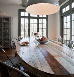 nice oval table