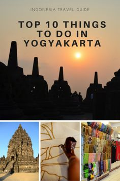 Yogyakarta is an amazing city with plenty of things to do.  It is not only the heart of Javanese culture, it is also the place where you see Buddhism and Hinduism at its best.  #yogyakarta #indonesia #indonesiatravel #indonesiatrip