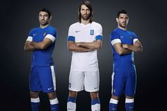 2014 World Cup Kits: Greece #WorldCup2014 #Brazil2014 #Football