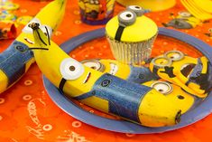 Minion Party Ideas - Minion Bananas - Free Printables on the Party Delights Blog