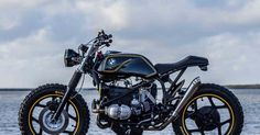 """Ottonero Cafe Racer: """"The Riot Starter"""" R65  /  IWC Motorcycles"""