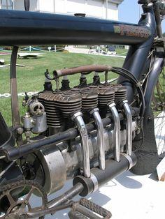 Original Pierce Arrow inline four aircooled.  Decades before Honda.