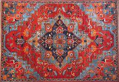 Rich Heriz - Oriental Rugs - Nomad Rugs