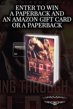 Win Paperback Copies or a $25 Amazon Gift Card from Author Nina Croft