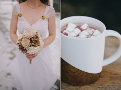 Hot chocolate favors can keep the winter spirit alive for guests even as they are back home in their cozy homes!