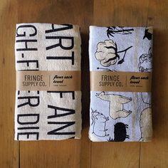The Yarnery - Flour Sack Towels, $16.25 (http://shop.yarnery.com/flour-sack-towels/)