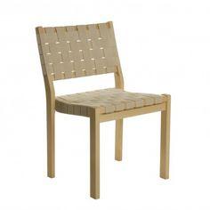 Artek Chair 611 with Webbing