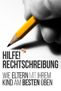 Rechtschreibung: Wie Eltern mit ihrem Kind am besten üben Help! How can parents practice this with their own child? A learning therapist clears up with common misunderstandings and gives helpful tips. Learning Arabic, Kids Learning, Education Quotes, Kids Education, Primary Education, Educational Websites, Educational Activities, Sewing Box, I School