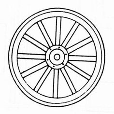 Image result for wagon wheel drawing