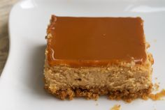 Dulce de Leche Cheesecake Bars are rich, creamy, delicious bars with dulce de leche both in the filling and the topping. Bake or Break