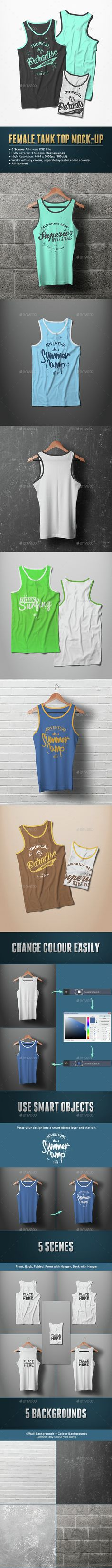 Male Tank Top T-shirt Mock-up. Download here: http://graphicriver.net/item/male-tank-top-tshirt-mockup/15162238?ref=ksioks