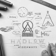 Graphisches Design, Graphic Design Tips, Logo Design Inspiration, Vector Design, Typo Logo Design, Typography Logo, Branding Design, Dia Do Designer, Logo Sketches
