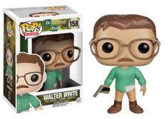 Cabezón Breaking Bad Walter White. Funko POP Television Cabezón creado por Funko para su colección POP Televisión de Walter White, el personaje principal de la serie Breaking Bad.