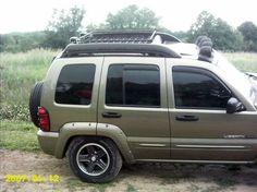 Custom Roof Rack · Jeep Liberty ...