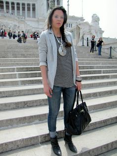 HOW TO DRESS IN A CHEAP WAY: Irene - tourist in Rome | Irene's Closet - Fashion blogger outfit e streetstyle