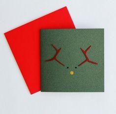 Kartki świąteczne DIY, ręcznie robione kartki świąteczne, fot. instagram.com/thebrownpapermovement