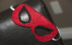 DIY Spiderman Mask