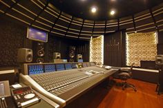 NHK's CP-604 Studio, Tokyo Japan. Spectacular.