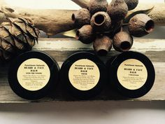 Beard Balm & Face Balm in One. Unscented Available. Clary Sage Essential Oil, Eucalyptus Essential Oil, Beard Balm, Moisturiser, After Shave, Vegan Friendly, Shea Butter, Bath And Body