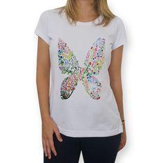 Camiseta Asas da Imaginação do Studio Dutearts por R$ 65,00