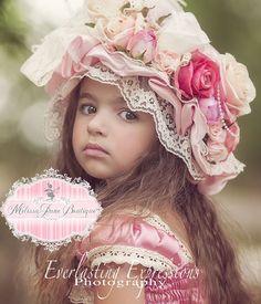 Stunning Floral Mop Hat