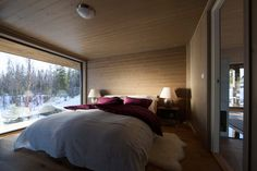 Rindalshytter Winter Lodge, Modern Rustic, Relax, Cabin, Bed, Boat House, Winter Sports, Furniture, Swim