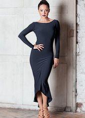 Chrisanne Clover Sapphire Latin Dress