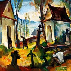 Zsögödi Nagy Imre (1893-1976) - Zsögöd, small chapel Painters, Artists, Inspiration, Biblical Inspiration, Inspirational, Artist, Inhalation
