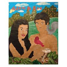 Adam and Eve Puzzle  A very fun puzzle for the whole family to put together. This puzzle is a fun way to tell the story of Adam and Eve to young children while you help put the pieces together.