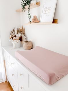 Baby Girl Nursery Decor, Baby Bedroom, Baby Room Decor, Blush Nursery, Baby Girl Nurserys, Baby Nursery Ideas For Girl, Baby Ideas, Baby Girl Rooms, Nursery Room Ideas