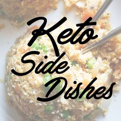 Board cover for our Keto Side Dishes board!
